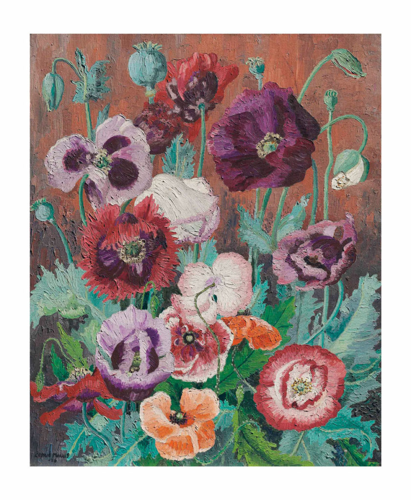 Cedric Morris Poppies Mould